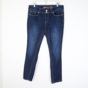 Seven7 Dark Wash Skinny Jeans 14